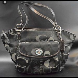 Coach lg Leah purse